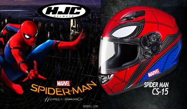 Novinka na skladě - HJC CS-15 SPIDERMAN