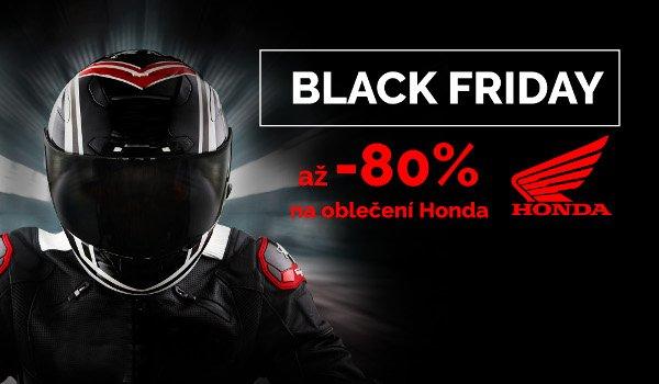 BLACK FRIDAY slevy na oblečení Honda