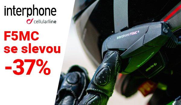 Komunikace Interphone F5MC za skvělou cenu