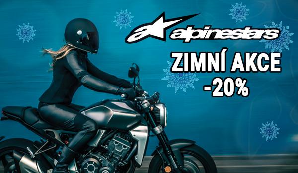 Zimní akce na motooblečení Alpinestars