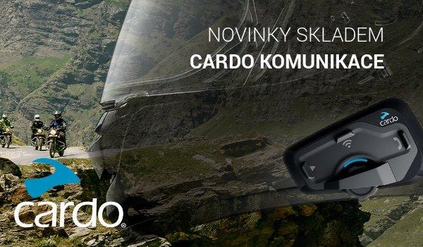 Nové komunikace od Cardo