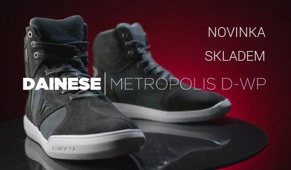Nové boty Metropolis od Dainese SKLADEM