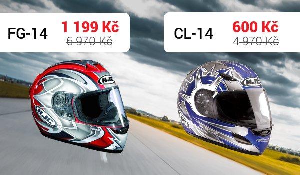 Integrální přilby CL-14 a FG-14