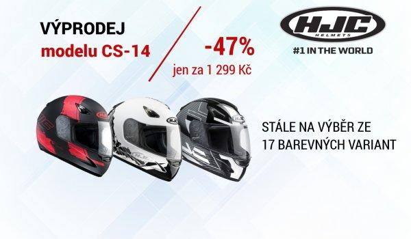 Velký výprodej přileb HJC CS-14
