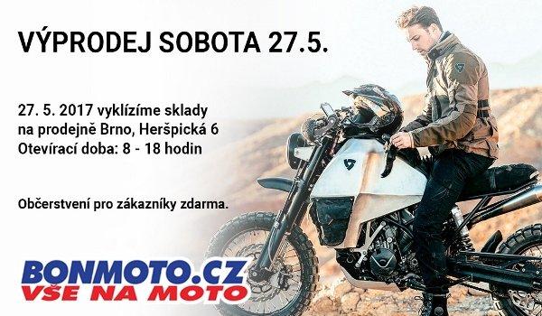 Sobota 27.5. - mimořádný výprodej