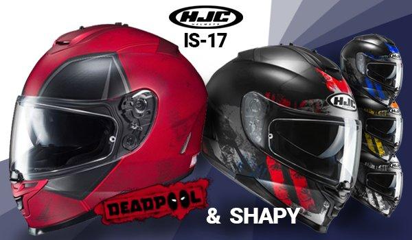 Nové přilby HJC IS-17 naskladněny!