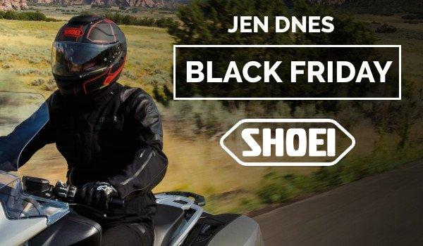 Akce na přilby Shoei jen na černý pátek