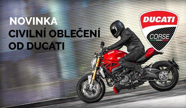 Civilní oblečení značky Ducati skladem!