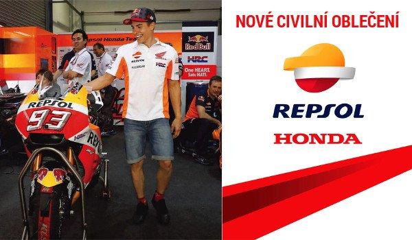 Nové oblečení Repsol Honda skladem