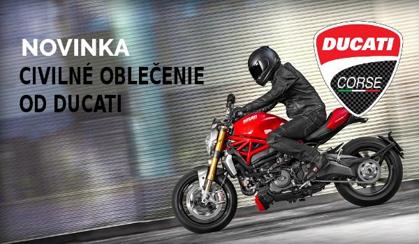 Civilné oblečenie značky Ducati skladom!