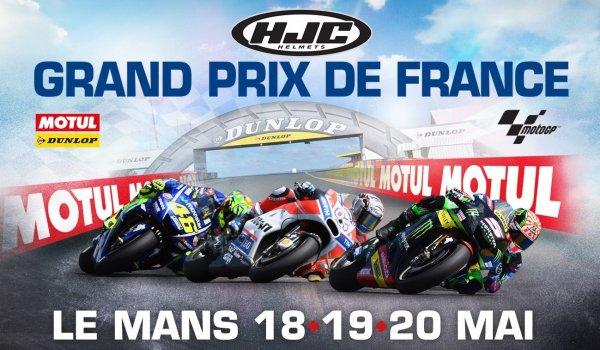 HJC oficiálním sponzorem Velké Ceny Francie 2018