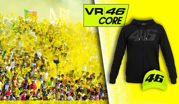 VR46 CORE - nová kolekcia civilu Valentino Rossi