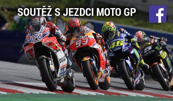 SOUTĚŽ s jezdci MotoGP je tady!