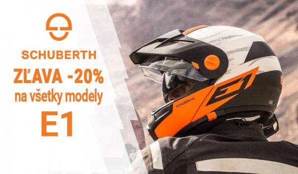 Vyprázdňujeme sklad - SCHUBERTH E1 v akcií -20%