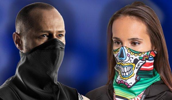 Nákrčníky a masky v naší nabídce