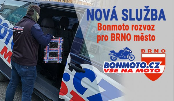 Rozvoz po Brně - přivezeme až domů