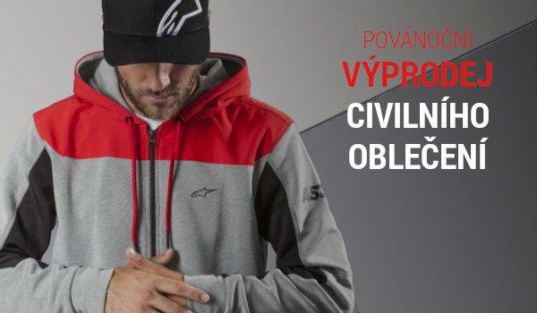 Civilní oblečení ve výprodeji