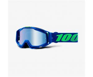 100% brýle RACECRAFT Dreamflow mirror blue