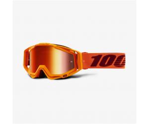 100% brýle RACECRAFT Menlo mirror red