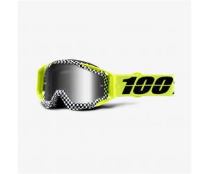 100% brýle RACECRAFT Andre mirror silver