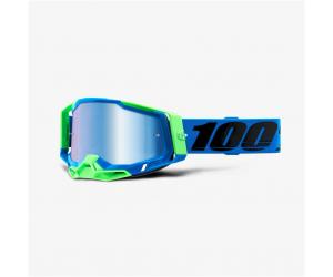 100% brýle RACECRAFT 2 Fremont mirror blue