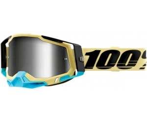 100% brýle RACECRAFT 2 Airblast mirror silver