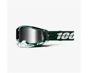 100% brýle RACECRAFT 2 Milori mirror silver