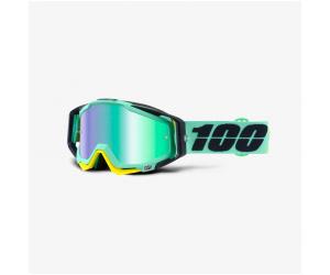 100% brýle RACECRAFT Kloog mirror green