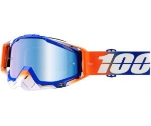 100% brýle RACECRAFT Roxburry mirror blue