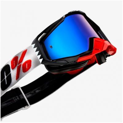 100% brýle RACECRAFT Marigot clear