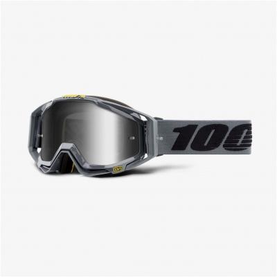 100% okuliare RACECRAFT Nardo mirror silver