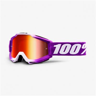 100% brýle ACCURI Framboise mirror red