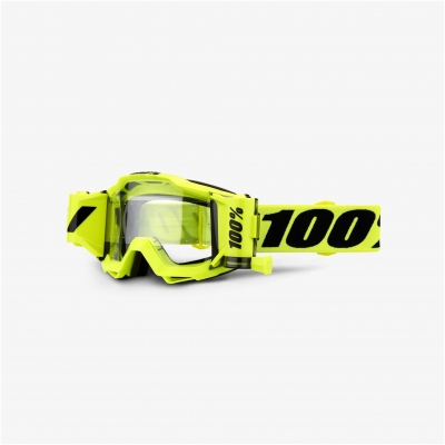 100% brýle ACCURI FORECAST fluo yellow clear