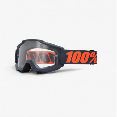 100% brýle ACCURI OTG Gunmetal clear