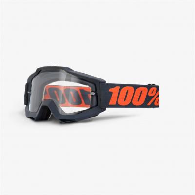 100% brýle ACCURI Enduro Gunmetal dual/clear