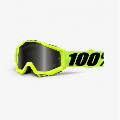100% brýle ACCURI Sand Fluo Yellow grey/smoke