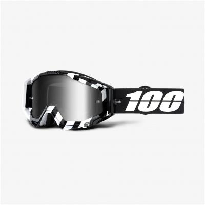 100% brýle RACECRAFT Alta mirror silver