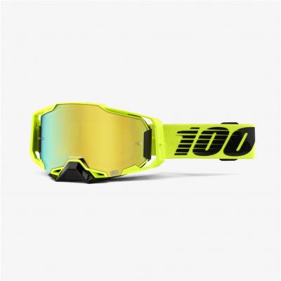 100% brýle ARMEGA Nuclear Citrus gold/mirror