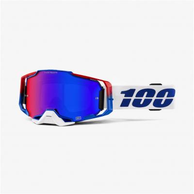 100% okuliare ARMEGA Genesis Hiper blue / red / mirror