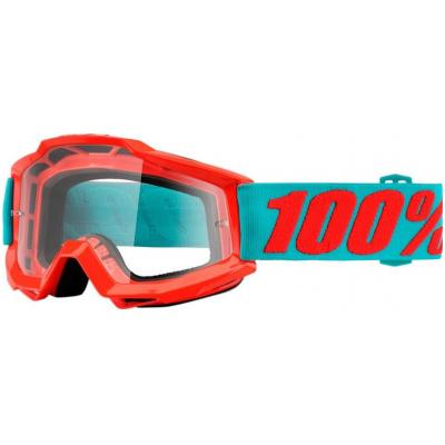 100% brýle ACCURI Passion Orange clear