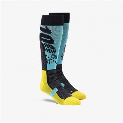 100% ponožky HI-SIDE aqua