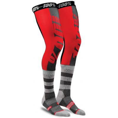 100% ponožky REV red