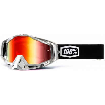 100% brýle RACECRAFT Terminator mirror/red