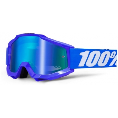100% brýle ACCURI Reflex Blue mirror/blue