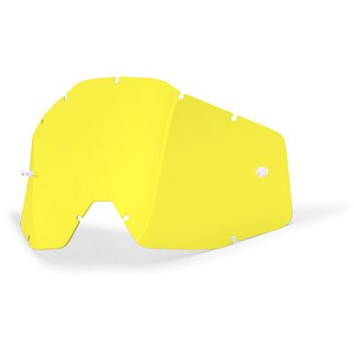 100% plexi ACCURI yellow