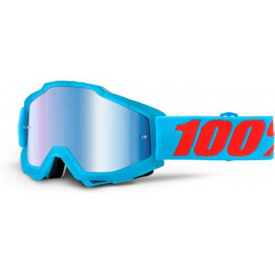 100% brýle ACCURI Acidulous cyan mirror/blue