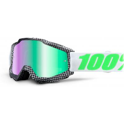100% brýle ACCURI Newsworthy mirror/green