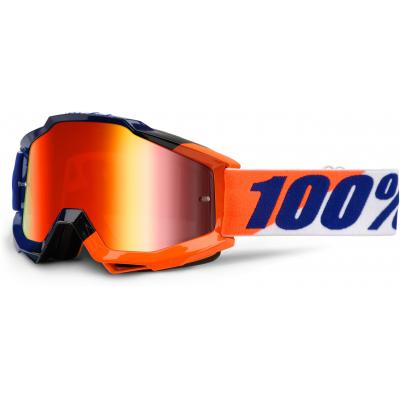 100% brýle ACCURI Wilsonian mirror/red