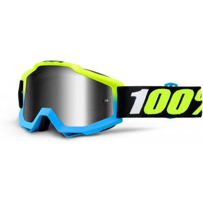 100% brýle ACCURI Pegasus mirror/silver