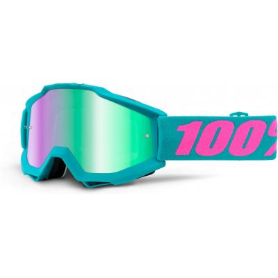 100% brýle ACCURI Passion mirror/green